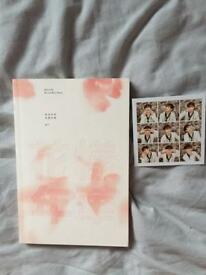 The Most Beautiful Moment In Life BTS KPOP Album featuring Jungkook card