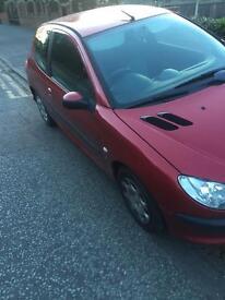 2004 Peugeot 206 1.4 petrol
