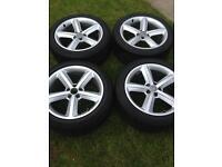 """Audi A5 alloys wheels 18 """""""
