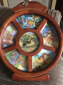 RARE vintage Winnie the Pooh clock Please read description