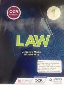 OCR A level Law Book One & Two