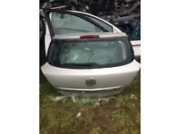 Astra h 2007 3 door rear tailgate in silver 07594145438