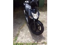 KYMCO AGILITY CITY 125cc 2016 BLACK. SERVICED WITH LOW MILAGE