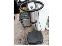 USED BODY SCULPTURE VIBRATION POWER TRAINER
