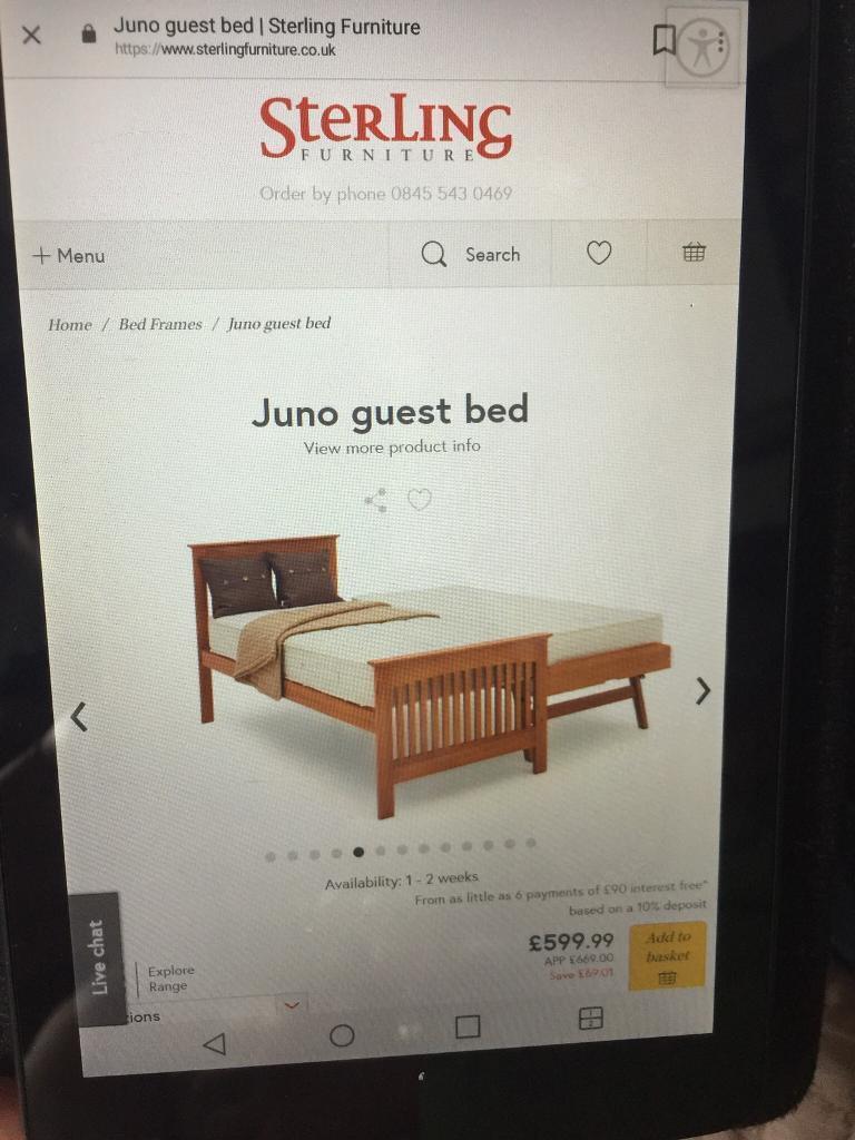 Juno children's / guest bed | in Aberdeen | Gumtree