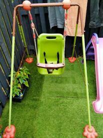 Outdoor/indoor kids swing