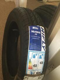 145/65 R15 tyres new