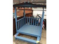 Child's gazebo/sandpit
