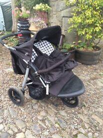 Baby weavers double buggy