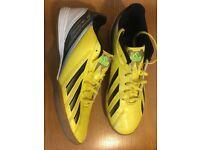 Adidas f10 indoor shoes uk6