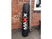 Boxing bag £30