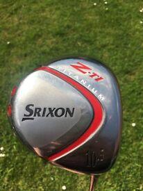 Srixon Z-TI titanium driver 10.5 degrees