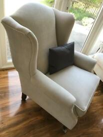 Laura Ashley Southwold Armchairs (pair) - Immaculate condition