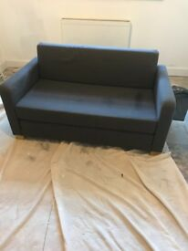 Two seater Ikea sofa bed