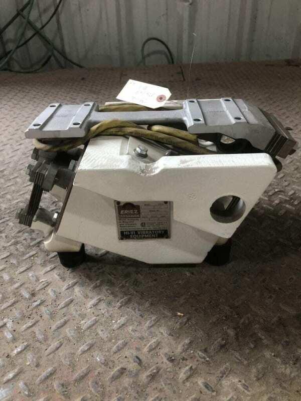 Eriez HI-VI 48A Vibratory Feeder Vibration Motor 115V Style HT