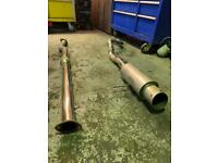 Citroen c2 2.5 inch cat back exhaust
