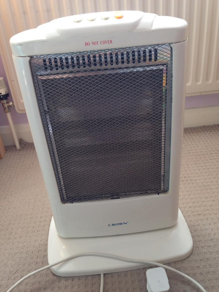 Mobile electric heater