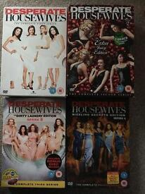 Desperate Housewives DVD box sets season 1-4