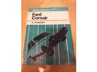 Ford Corsair servicing workshop manual