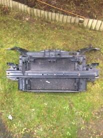 Ford Fiesta mk6 diesel radiator and aircon fan pack and slam panel