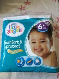 *New* Nappies Size 6+