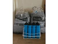 2x Adult Mens 11's Strips, Training Balls and Nets