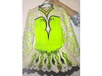 Stunning GAVIN DOCHERTY irish dance dress, a must have dress that would suit ladies 8 to a 10