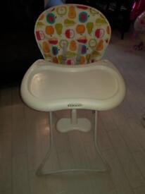 Grace fruit salad high chair