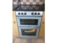 Double Oven Freestanding Belling Electric With Ceramic Hob. Excellent Condition
