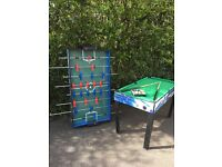 Children's pool and table football