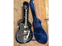 *AS NEW* Peerless Tonemaster Pro Semi-Hollow Guitar - Black - RRP £1200