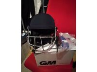 GM ICON Geo Cricket Helmet Nearly New with Tags