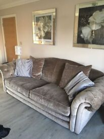 Mink DFS Loch Levin Grand Sofa and Chair