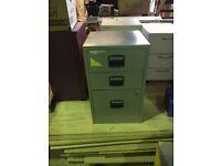 Metal filing cabinet 3 draw