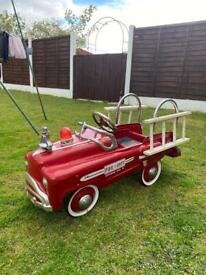Child's 50s style fire engine