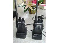 PROZOR PST-888S 2 PCS Professional Long Range Rechargeable Walkie Talkies