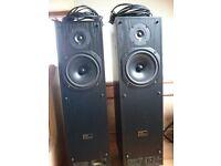 TDL Electronics loudspeakers.