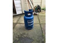 Butane gas cylinder bottle