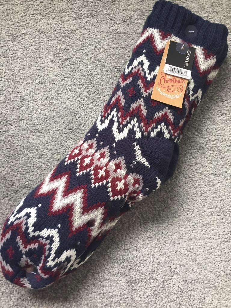 Mens lounge bed socks brand new