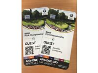 BMW PGA champs Sat or Sun tickets