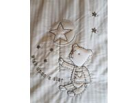Reduced! Mothercare once upon a time cot bumper twins two available like new