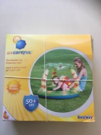 Paddling pool with canopy Bestway SPF 50