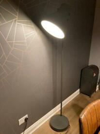 IKEA Hektar charcoal grey floor lamp