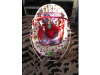 Mamas & Pappas musical & vibrating baby bouncer/chair