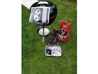 Weber BBQ with accessories