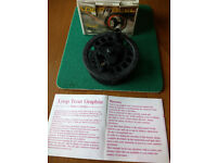 LOOP GRAPHITE FLY REEL - used once