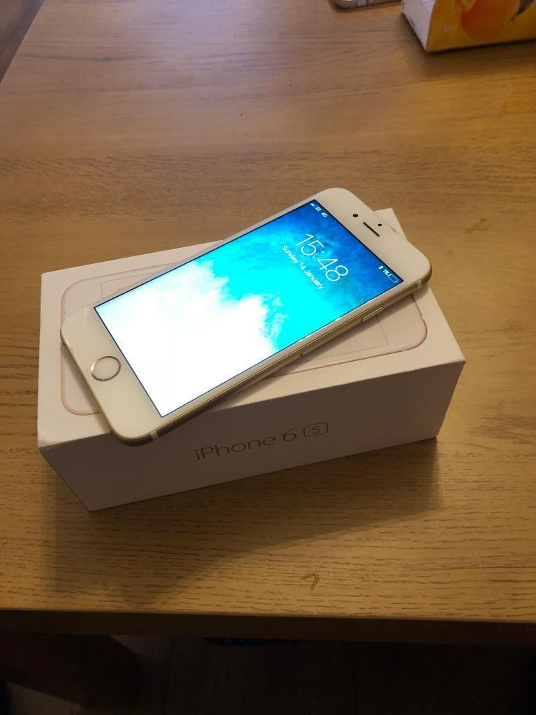 IPhone 6s Gold - 16GB UNLOCKED