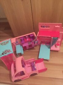 Barbie Boat and Campervan
