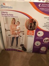 Two baby stair gates