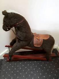 Childs vintage rocking horse